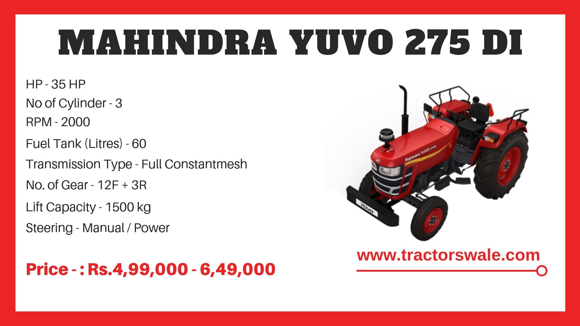 Mahindra Yuvo 275 DI