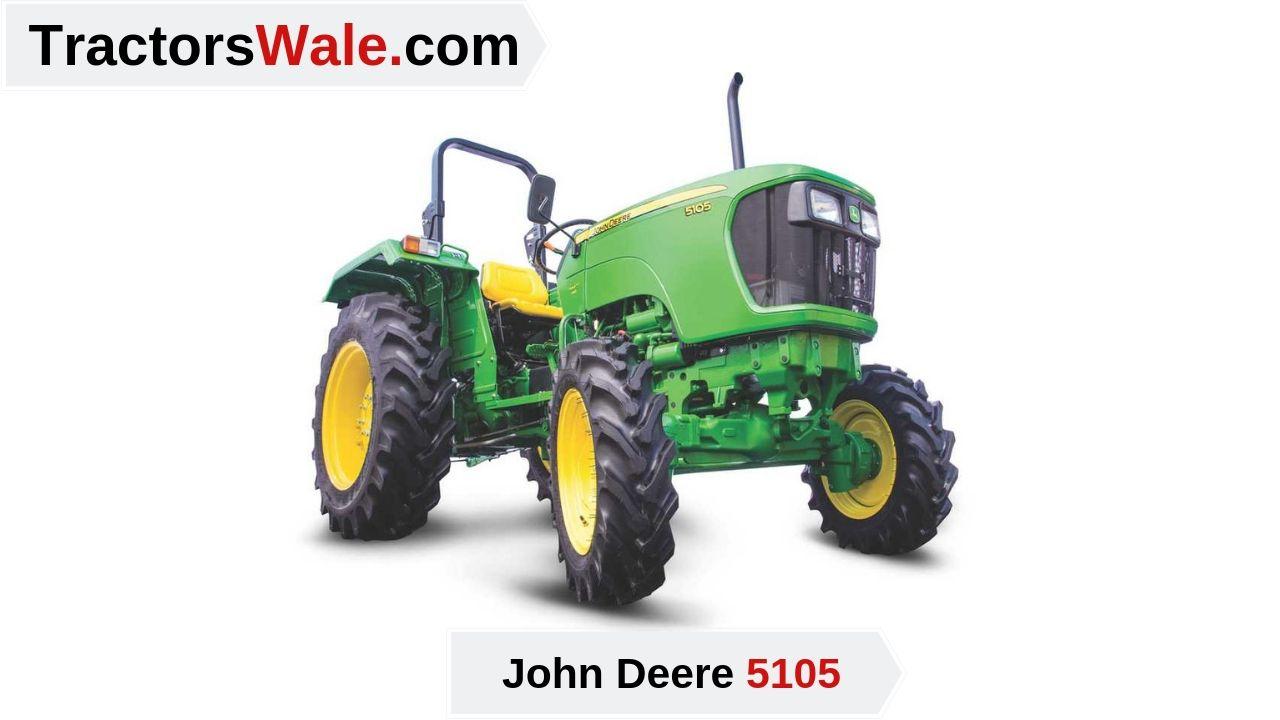 John Deere Tractor Price 5105 Mileage specifications - John Deere