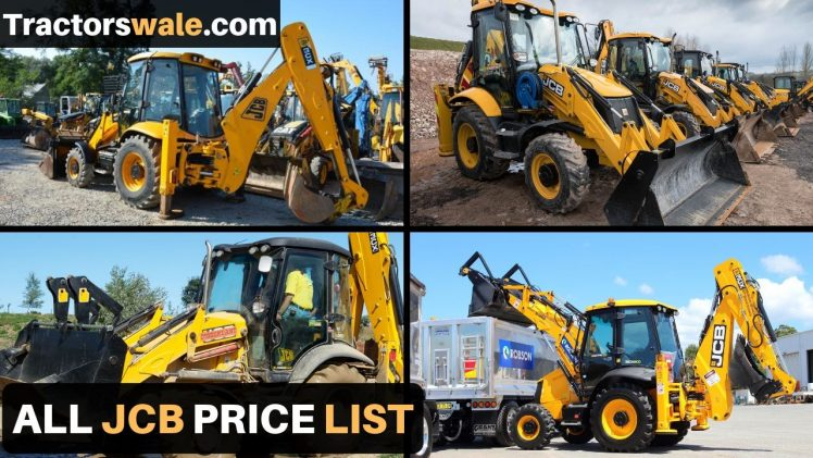 All New JCB Price list in india 2019 | JCB Machine