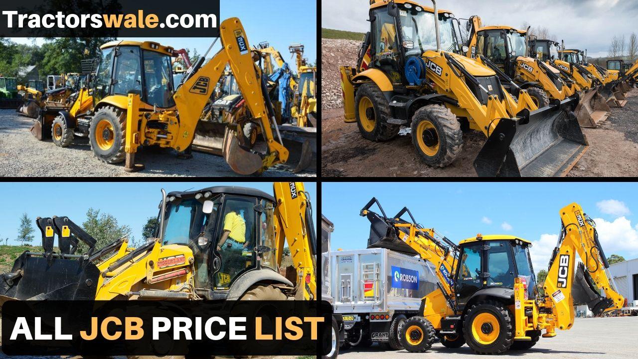 All New JCB Price list in india 2019   JCB Machine