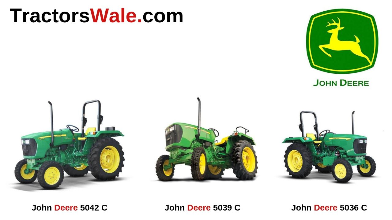 All John Deere Tractor 5C Series Price Specifications Mileage
