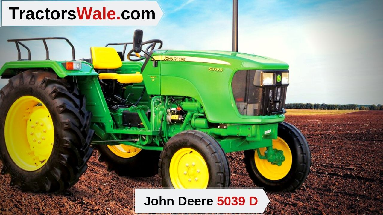 John Deere 5039 D Tractor Price specifications Mileage - John Deere