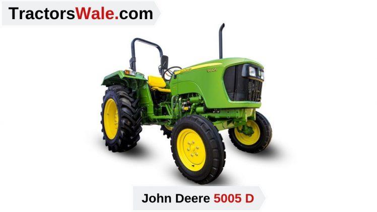 John Deere Tractor 5005 D Price Mileage specifications – John Deere