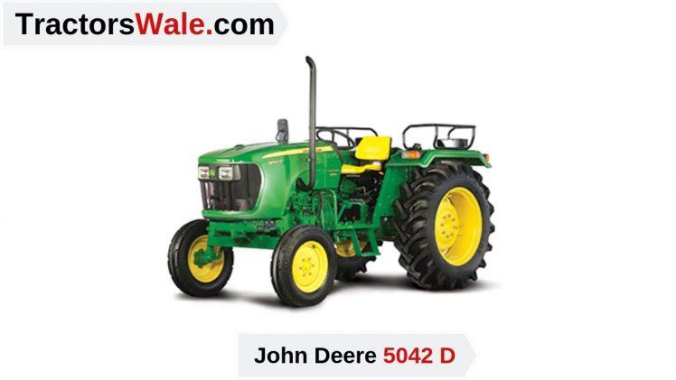 John Deere 5042 D Tractor Price specifications Mileage – John Deere