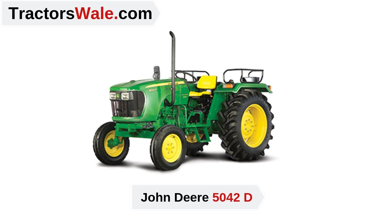 John Deere 5042 D Tractor Price specifications Mileage - John Deere