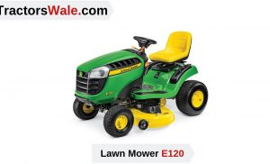 Lawn Mower Tractor E120 Price Specification | John Deere Tractor