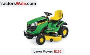 john deere e160 Lawn Mower Tractor | Price list & Specification