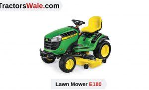 john deere e180 Lawn Mower Tractor | Price list & Specification