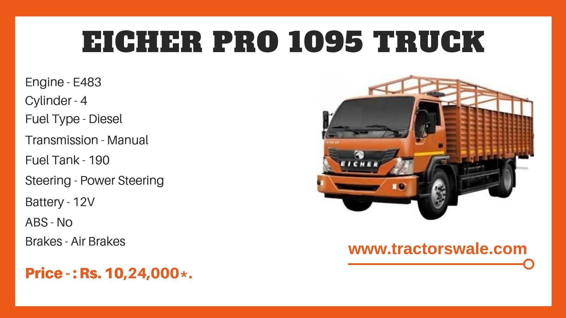 Eicher Pro 1095 Price