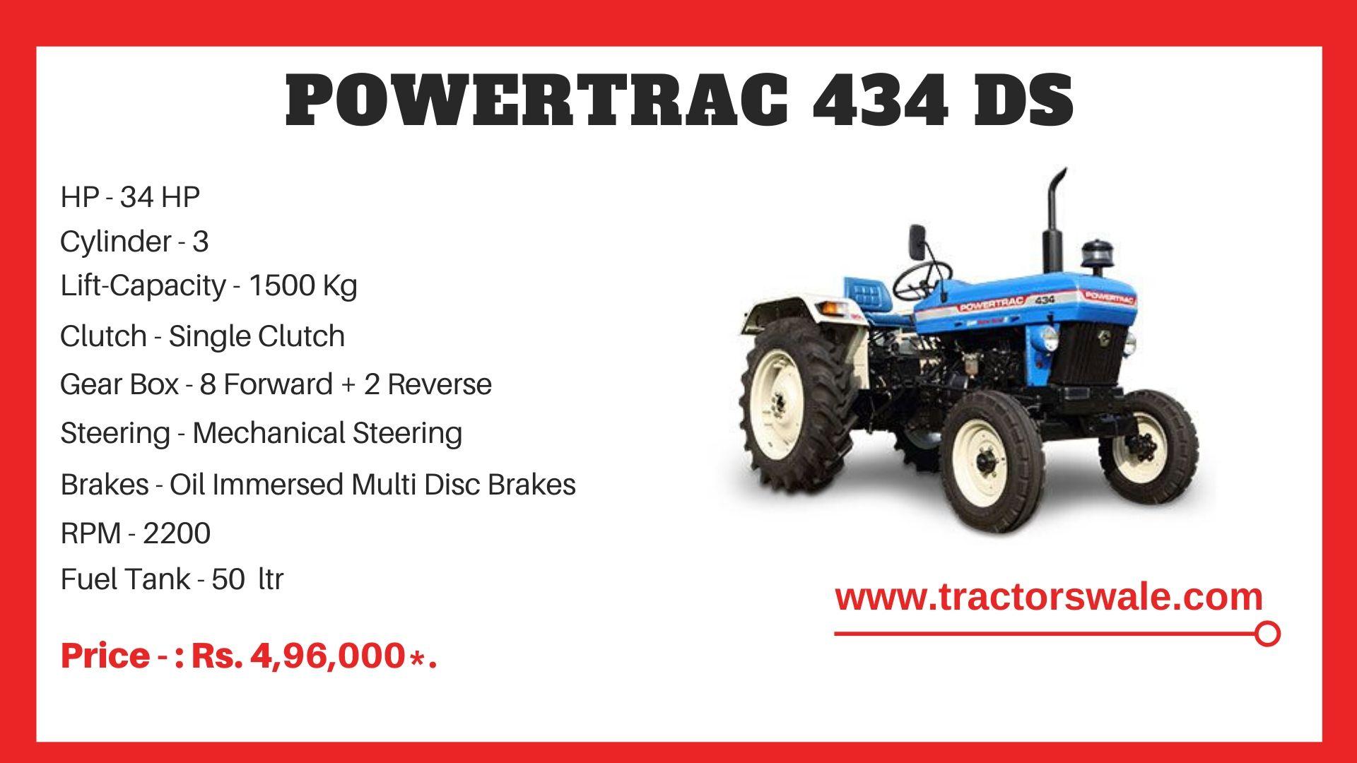 PowerTrac 434 DS tractor