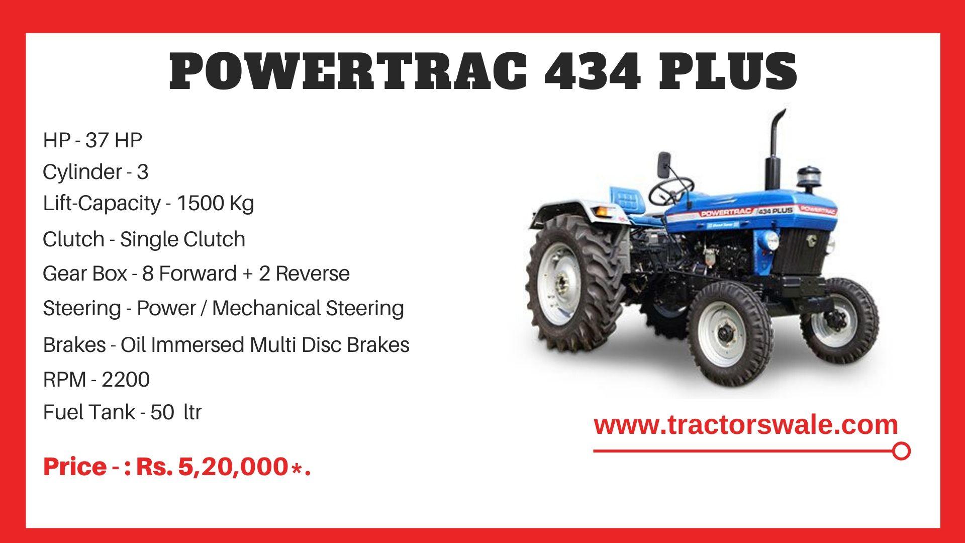 PowerTrac 434 Plus tractor price