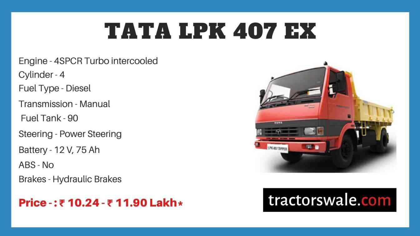 Tata LPK 407 EX Price