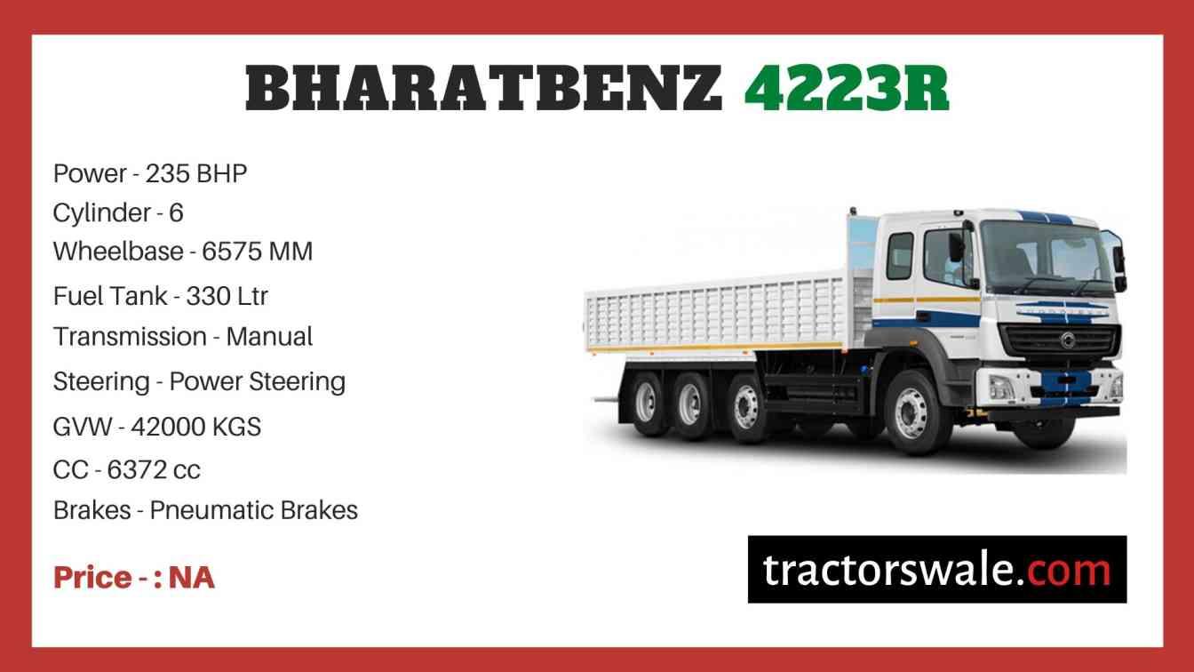 Bharat benz 4223R price