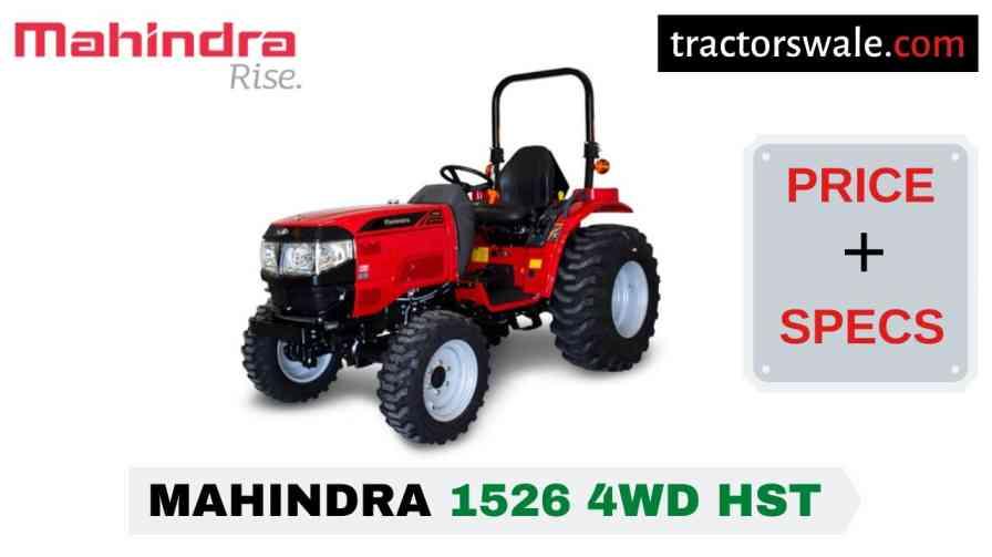 Mahindra 1526 4WD HST