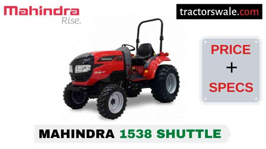 Mahindra 1538 Shuttle