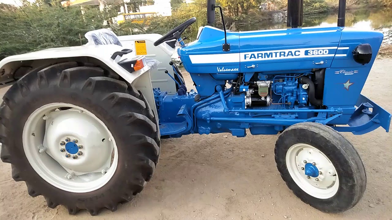 Farmtrac 3600 Tractor Price Specifications Mileage 2019