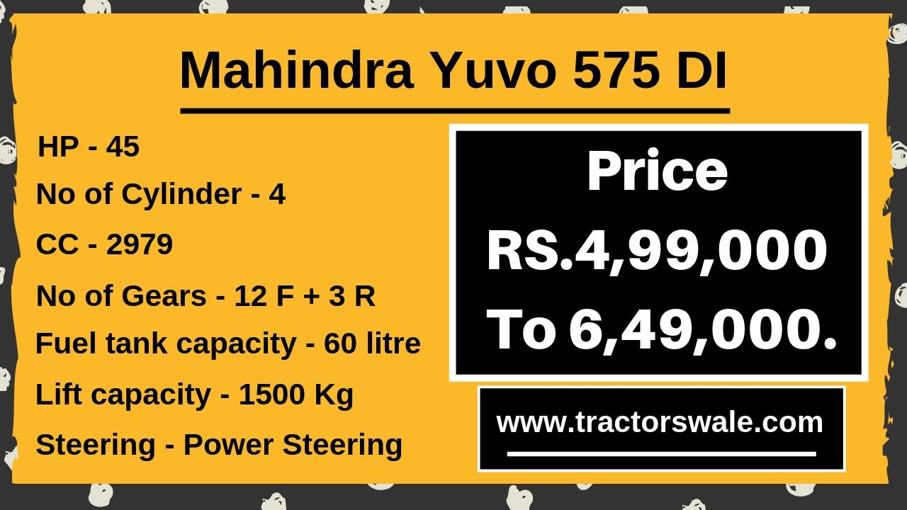 Mahindra Yuvo 575 DI