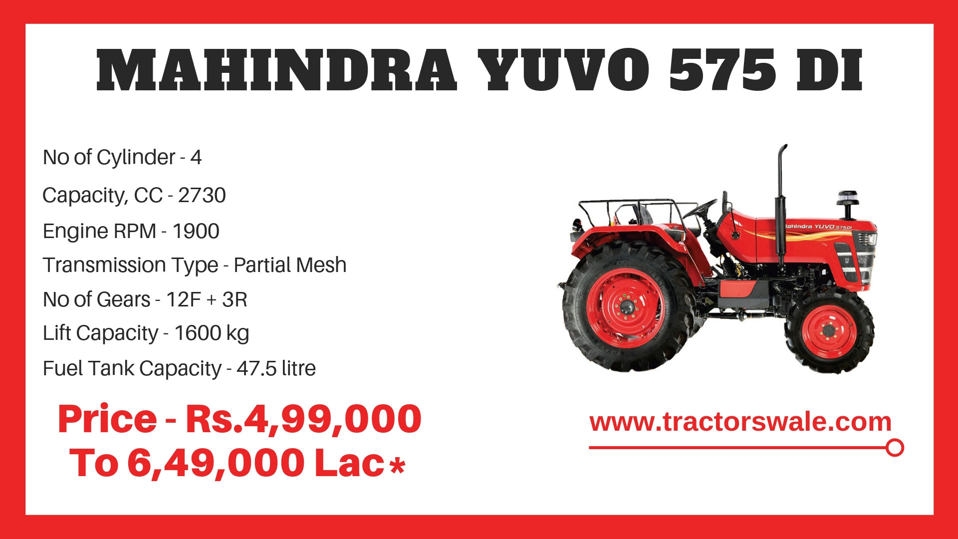 Mahindra-Yuvo-575-DI-tractor-price-and-specifications