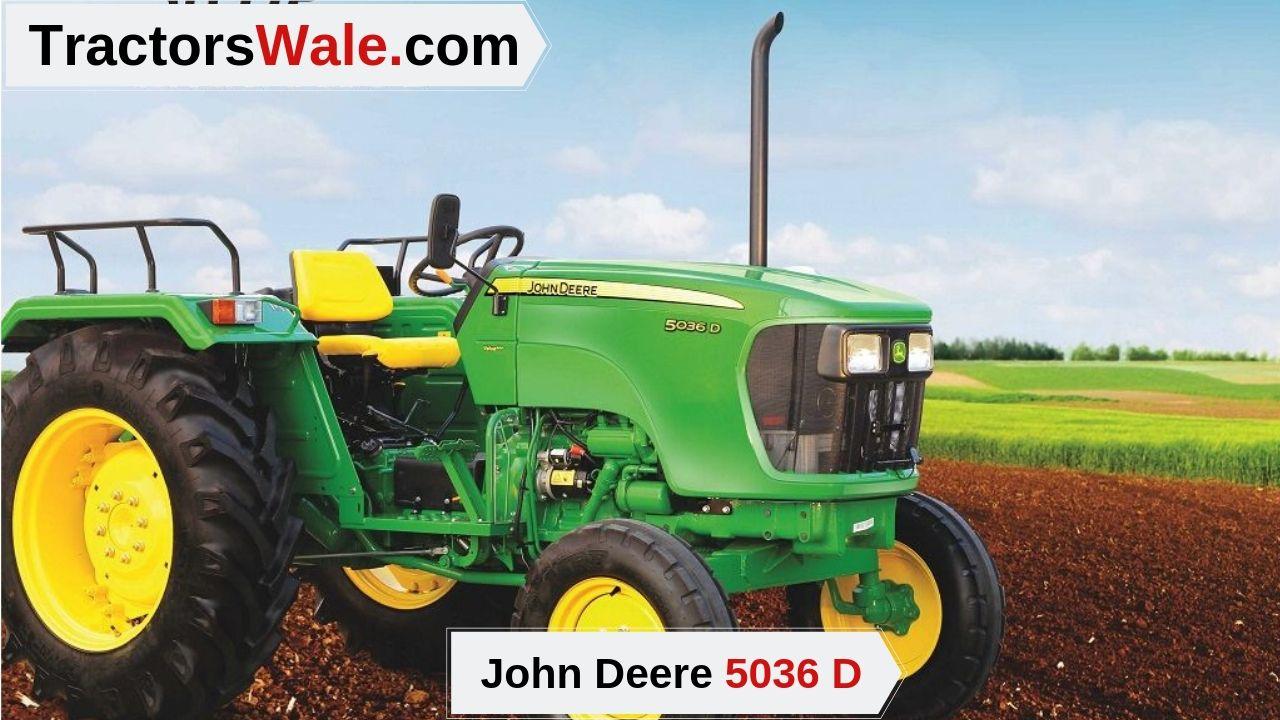 John Deere 5036 D Tractor Price Mileage specifications – 5036d John Deere