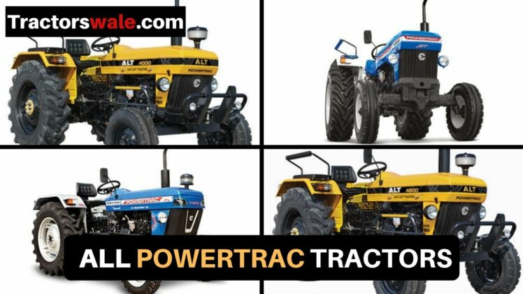 PowerTrac Tractor price specification mileage 2019