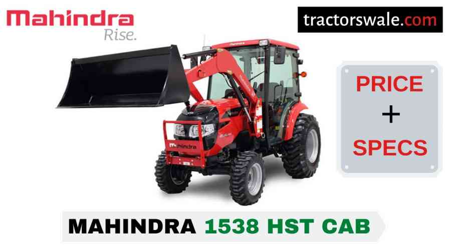 Mahindra 1538 HST CAB